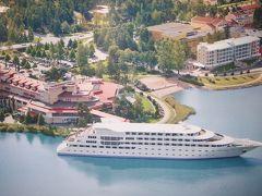 森と湖に国にオーロラを求めて ナーンタリのリゾート・ホテルで疲れをとる