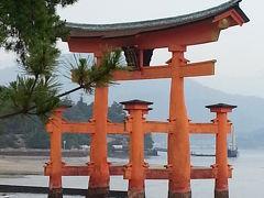 台風がかすめた 宮島・尾道・高知・松山 ①