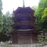 前山寺に代々伝わる手作りの「くるみおはぎ」のお接待