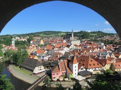 2014ドイツ、チェコ、オーストリア一人旅16チェスキークルムロフ2日目