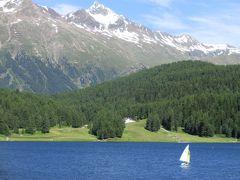 スイス旅行10日間-2ディアヴォレッツァ展望台&サンモリッツ街歩き