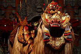バリ舞踊とバリアートに触れる旅 in Ubud★2014 04 3日目 【Bali…バロンダンス鑑賞】