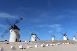 2014 レンタカーで巡るスペインの旅 (4) 【ドン・キホーテが戦いを挑んだラ・マンチャの風車の村☆カンポ・デ・クリプターナ】
