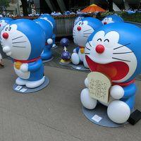 VISIT SHIBUYAでいく六本木ヒルズのテレビ朝日祭り「ドラえもん」と東洋英和の村岡花子展(花子とアン)と「トラのもん」