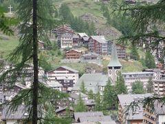 スイスアルプス 絶景と花に酔う5日目パート2気儘に散歩、ハイキング~ツェルマット~