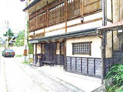 2014 8月 湯田中温泉の滞在 1泊2日 「ひなの宿 安楽荘(8畳、温泉内風呂付)」