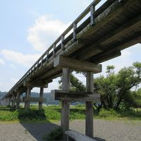青春18きっぷで一人旅 その(1)-1 蓬莱橋を渡る