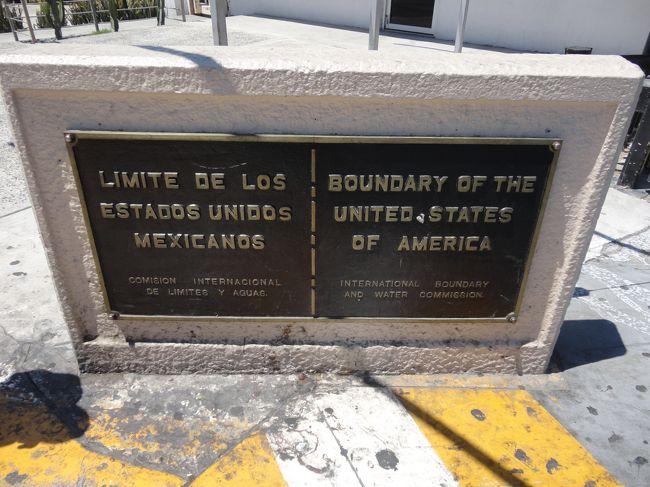USから歩いて国境越え。