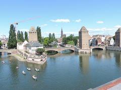 '14フランス。パリを拠点にジャンヌ・ダルクを訪ねて35。ストラスブール、ヨーロッパの首都2:旧市街地巡り。