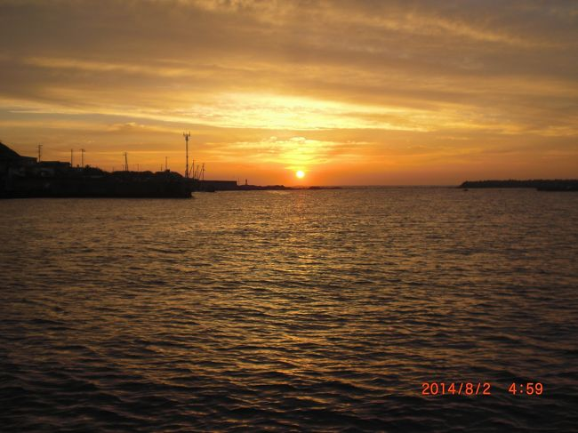 各地で猛暑<br />沖は涼しい(^◇^;)<br />8月です<br />台風の時期でもあります<br />出船時増殖します