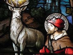 ≪アルデンヌ地方:実在した狩人の守護聖人St. Hubert聖ユベール≫