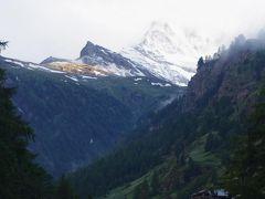 スイスアルプス マッターホルンは仰げたか?!6日目早朝~ツェルマット~