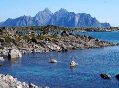 団塊夫婦のノルウェー絶景ドライブ旅行(8)-ローフォーテン三日目・絶景続きの東海岸沿いドライブ
