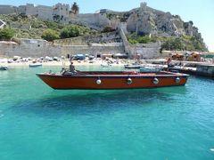 真夏の優雅な南イタリア旅行 Napoli×Puglia♪ Vol40(第4日目午前) ☆高速船で憧れのトレミティ諸島(Isole Tremiti)へ♪ついに「空に浮かぶ船」を発見♪