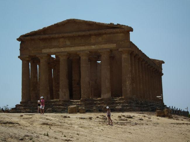 南イタリアの遺跡と自然にふれる旅(シチリア島アグリジェント編)⑪-⑥