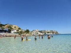 真夏の優雅な南イタリア旅行 Napoli×Puglia♪ Vol47(第4日目午後) ☆トレミティ諸島(Isole Tremiti):サン・ドミノ島(I.S.Domino)の美しいビーチで優雅に過ごす♪