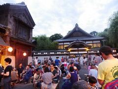 江戸東京たてもの園の夏祭り 「下町夕涼み」と「ジブリの立体建物展」