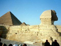"""想いで旅行記 """"エジプト古代ロマンの旅"""" 1 ギザのピラミット編"""