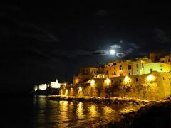 真夏の優雅な南イタリア旅行 Napoli×Puglia♪ Vol51(第4日目夜) ☆ビエステ(Vieste):旧市街の夜景とショッピングを優雅に楽しむ♪