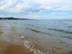 真夏の優雅な南イタリア旅行 Napoli×Puglia♪ Vol56(第5日目午後) ☆ビエステ(Vieste):午後もプライベートビーチでのんびりと過ごす♪