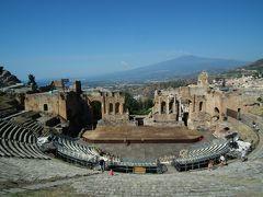 南イタリアの遺跡と自然にふれる旅(シチリア島タオルミナ編)⑪-⑦