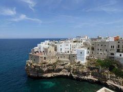 真夏の優雅な南イタリア旅行 Napoli×Puglia♪ Vol68(第6日目昼) ☆ポリニャーノ・ア・マーレ(Polignano a Mare):「Hotel Covo dei Saraceni」の屋上から絶景を楽しむ♪