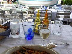 真夏の優雅な南イタリア旅行 Napoli×Puglia♪ Vol72(第6日目昼) ☆ポリニャーノ・ア・マーレ(Polignano a Mare):旧市街へ渡る橋のそばのオシャレなカフェ「Solarium caffe」でランチ♪