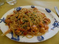 真夏の優雅な南イタリア旅行 Napoli×Puglia♪ Vol89(第7日目昼) ☆モノポリ(Monopoli):旧市街内の人気レストラン「Il Guazzetto」で絶品パスタを頂く♪