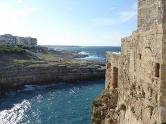 真夏の優雅な南イタリア旅行 Napoli×Puglia♪ Vol92(第7日目午後) ☆ポリニャーノ・ア・マーレ(Polignano a Mare):黄昏の旧市街の散策とショッピング♪