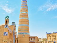02.中央アジア+モンゴル、中国の一人旅 -2.気温47度のヒヴァハン国の都