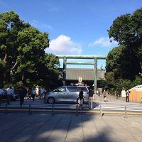 2014年8月15日早朝の靖国神社を参拝する