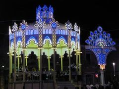 真夏の優雅な南イタリア旅行 Napoli×Puglia♪ Vol102(第7日目夜) ☆ポリニャーノ・ア・マーレ(Polignano a Mare):聖母マリアの昇天祭♪美しいルミナリエと聖楽隊の音楽を聴いて♪