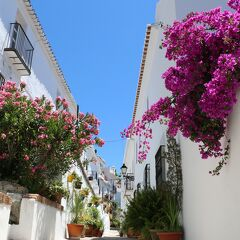 2014 レンタカーで巡るスペインの旅 (6) 【アンダルシアの白い村☆フリヒリアナ】