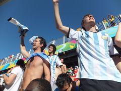 ブラジルW杯!現地参戦の旅 <4> サンパウロには「日本」があった…&興奮のアルゼンチンvsスイス観戦!イビラプエラではお花見…♪