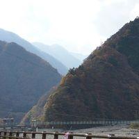 女帝の奈良田温泉から身延山そして下部温泉そして猿橋の大月まで