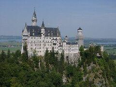 ミュンヘンからウィーンへ・2、ノイシュバンシュタイン城へ