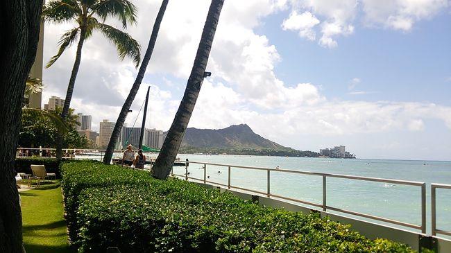 4泊6日のはずのハワイ旅行が、DELTAが飛ばず、1泊減!!<br />ハレクラニ泊の1泊は返金なし(泣)<br />くよくよしてられないので、思う存分楽しみました〜(^^)<br />初めての3泊5日ハワイです。<br /><br /><br />