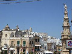 真夏の優雅な南イタリア旅行 Napoli×Puglia♪ Vol113(第8日目午後) ☆オストゥーニ(Ostuni):新市街をゆったりと歩く♪