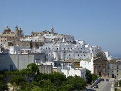 真夏の優雅な南イタリア旅行 Napoli×Puglia♪ Vol114(第8日目午後) ☆オストゥーニ(Ostuni):美しい白いラピュタのような素晴らしいパノラマ♪