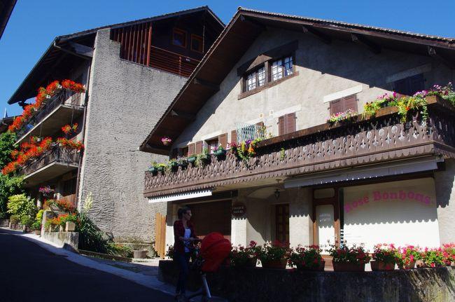 フランス 花々に彩られた美しい村イヴォアール7日目・スイス 車窓からのジュネーブ最終日