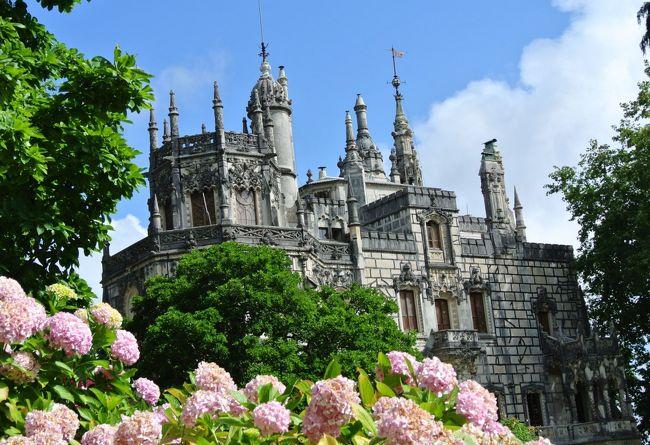 Lisbon滞在するなら、シントラへ行かなくちゃ!だわネ<br />・・・で調べたら・・・シントラって見所たっぷり有るのネ @_@<br />(なのにガイドブックはたった3頁?) http://www.parquesdesintra.pt/en/<br />ロープ渡りのアクティビティまで有るみたいヨ<br />こりゃ1泊しても足らないくらいかも?<br />でも、今回はリスボンから日帰りだから、行き先を吟味しなくちゃ!!<br /><br />Regaleira レガレイラ、Pena ペーナ、Monserrate モンセラート<br />この3件を重視して、余裕があったら王宮、シントラヴィラも加えて・・・<br />さて、どこまで回れるかな?<br /><br />やっと手にできたスーツケースを開けてカメラバッテリーを充電できました<br /><br />7月12日 HND → LHR → LIS 列車で Porto へ移動 3泊<br />  13日 Porto 市内観光<br />  14日 列車で Braga・Bom Jesus・Guimaraes ショートトリップ<br />  15日 昼バスで Nazare へ 泊<br />  16日 朝バスで Nazare → Evora 泊 夕方 Monsaraz<br />  17日 Evora観光後 バスで Lisbon へ移動 3泊<br />  18日 Lisbon 市内観光<br />■19日 Sintra 観光<br />  20日 朝 LHR経由日本へ