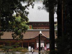 大雨予報でも行きたかった比叡山、束の間、雲が開け感無量