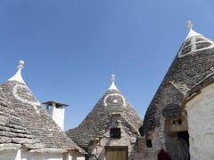 真夏の優雅な南イタリア旅行 Napoli×Puglia♪ Vol143(第9日目午後) ☆:アルベロベッロ(Alberobello):メルヘンチックな真夏のトゥルッリ世界を優雅に歩く♪