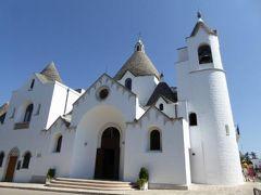 真夏の優雅な南イタリア旅行 Napoli×Puglia♪ Vol145(第9日目午後) ☆:アルベロベッロ(Alberobello):可愛いトゥルッリの教会「Chiesa S.Antonio」を鑑賞♪
