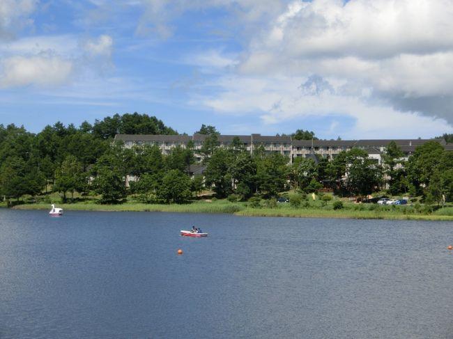 お盆過ぎの8月18日から妻と2人で「ホテルアンビエント蓼科」(写真)に滞在してきた。ここ数年、全く同じ日程の旅行で、女神湖畔のホテルに2泊して、高原の涼しい夏を過ごす。朝、夕の女神湖畔の散歩、車山から八島湿原へのハイキング、温泉、そして、フレンチレストランでのコース料理等を楽しむ。宿泊代金はセラヴィリゾートのメンバー用通常プランで1泊2食11300円+入湯税300円。<br /><br />私のホームページに旅行記多数あり。<br />『第二の人生を豊かに』<br />http://www.e-funahashi.jp/<br />(新刊『夢の豪華客船クルーズの旅<br />ー大衆レジャーとなった世界の船旅ー』案内あり)<br />
