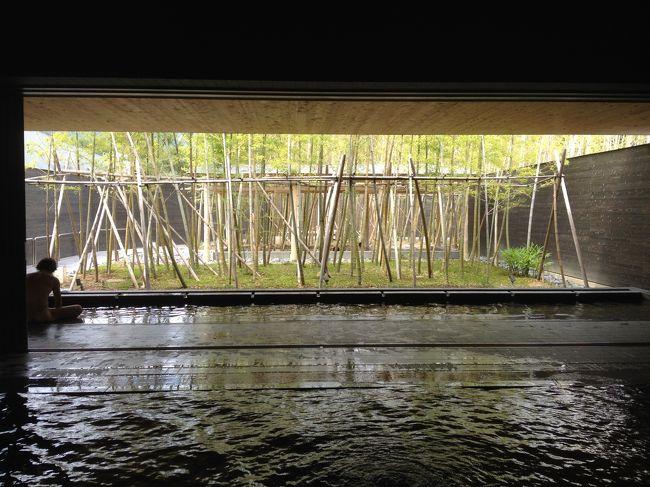三重県菰野町に有る片岡温泉(アクアイグニス)に出掛けてきました。<br /><br />以前のスーパー銭湯の片岡温泉の印象で出掛けると目を疑ってしまう衣替えです。<br /><br />総合リゾート・アクアイグニスという施設に代えて大規模に建物のデザインから配置も変わっています。<br /><br />アクアイグニス 湯の山温泉にある癒しと食の総合リゾート<br />http://aquaignis.jp/<br /><br />湯 - 片岡温泉   aqua×ignis -アクアイグニス-<br />http://aquaignis.jp/spa.php