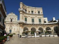 真夏の優雅な南イタリア旅行 Napoli×Puglia♪ Vol151(第9日目午後) ☆マルティーナ・フランカ(Martina Franca):美しい広場「Piazza M.Immacalata」♪