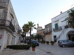 真夏の優雅な南イタリア旅行 Napoli×Puglia♪ Vol158(第9日目夕) ☆カロヴィニョ(Carovigno):黄昏の旧市街を歩く♪