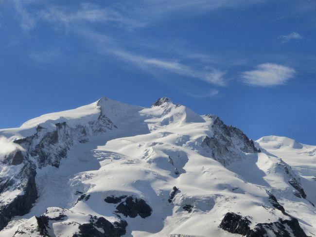 スイス旅行10日間-5ゴルナーグラート展望台