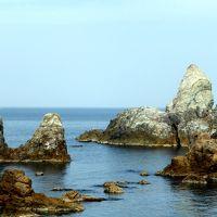 日本海沿岸周遊旅情2014'10山陰海岸ジオパークその5穴見海岸